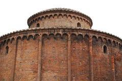 Rund byggnad, Mantova Royaltyfria Bilder