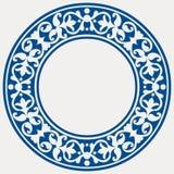 rund dekorativ ram Royaltyfri Fotografi