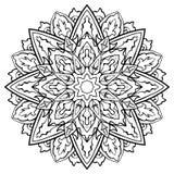 Rund dekorbeståndsdel Royaltyfri Bild