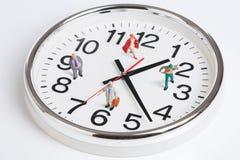 rund klocka Arkivbild