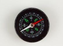 Rund magnetisk kompass Arkivbild