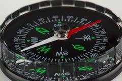 Rund magnetisk kompass Royaltyfri Foto