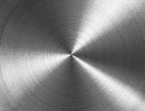 rund metallisk textur Arkivfoto