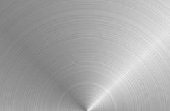rund metallståltextur Arkivfoto