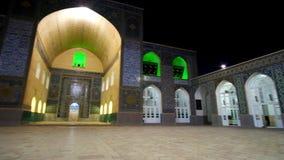 Rund panorama av Jame Mosque stock video