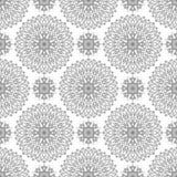 Rund prydnad eller textilen Royaltyfri Fotografi