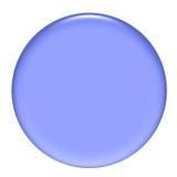 rund purple för knapp 3d Arkivbilder