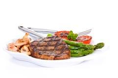 rund steak för öga Royaltyfri Foto