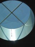 rund takfönster fotografering för bildbyråer