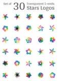 Rund tappningram för logoer Original- väva makramé Royaltyfri Foto