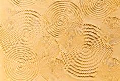 rund texturerad vägg Royaltyfri Fotografi