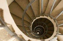 rund trappa Fotografering för Bildbyråer