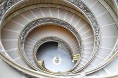 rund trappa Arkivbilder