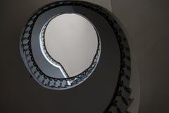 rund trappa Royaltyfri Fotografi