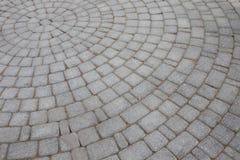 Rund trottoar, hörnsammansättning Arkivfoton