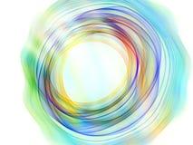 runda färgrika datalistor royaltyfri illustrationer