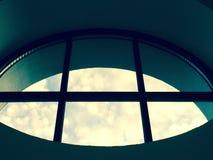Runda format fönster Royaltyfri Bild