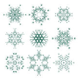 Runda geometriska prydnader Royaltyfri Bild