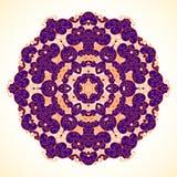 Runda lilor på en ljus bakgrund stock illustrationer