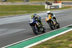 Runda 3 - mästerskap 2017 för Superbike för Yamaha motorfinans australisk Arkivfoto