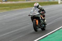 Runda 3 - mästerskap 2017 för Superbike för Yamaha motorfinans australisk Fotografering för Bildbyråer