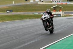 Runda 3 - mästerskap 2017 för Superbike för Yamaha motorfinans australisk Royaltyfri Foto