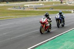 Runda 3 - mästerskap 2017 för Superbike för Yamaha motorfinans australisk Royaltyfri Bild