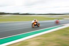 Runda 3 - mästerskap 2017 för Superbike för Yamaha motorfinans australisk Arkivbilder