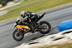 Runda 3 - mästerskap 2017 för Superbike för Yamaha motorfinans australisk Arkivbild