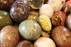 runda pebbles royaltyfri foto