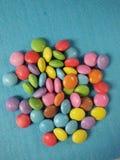 Runda sötsaker arkivbild