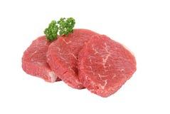 runda steaks Royaltyfri Bild