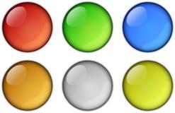runda symboler Royaltyfri Fotografi