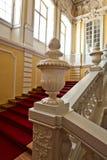 Rundale宫殿内部  免版税库存图片