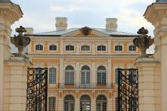 Rundale宫殿-拉脱维亚 库存图片