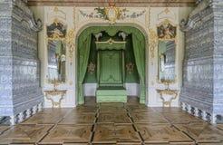 Rundale, Латвия, Европа, дворец Стоковые Фотографии RF