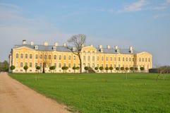 RUNDALE, LATVIA - Rundales Palace Stock Photo