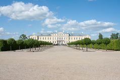 Rundale palace Royalty Free Stock Photo