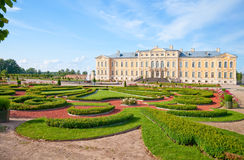 Rundale palace Royalty Free Stock Photography