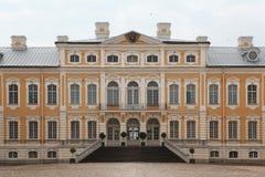 Rundale Palace designed by Bartolomeo Rastrelli in Latvia Stock Image
