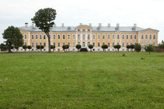 Rundale Palace designed by Bartolomeo Rastrelli near Pilsrundale Stock Images