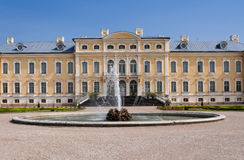 Rundale palace exterior Royalty Free Stock Images