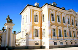 Rundale palace in Latvia Royalty Free Stock Photo