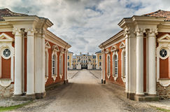 Rundale palace in Latvia, Europe Stock Photo