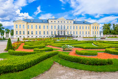 Rundale palace Stock Images
