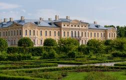 Rundale palace in Latvia Stock Photo