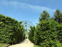 Rundale Palace park, Latvia Royalty Free Stock Photo