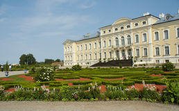 Rundale palace view Stock Photos