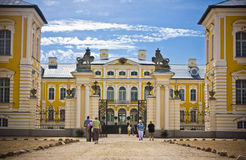 Rundale palace Stock Photography