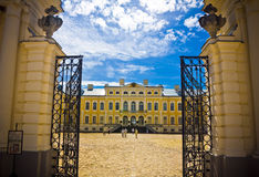 Rundale palace Royalty Free Stock Images